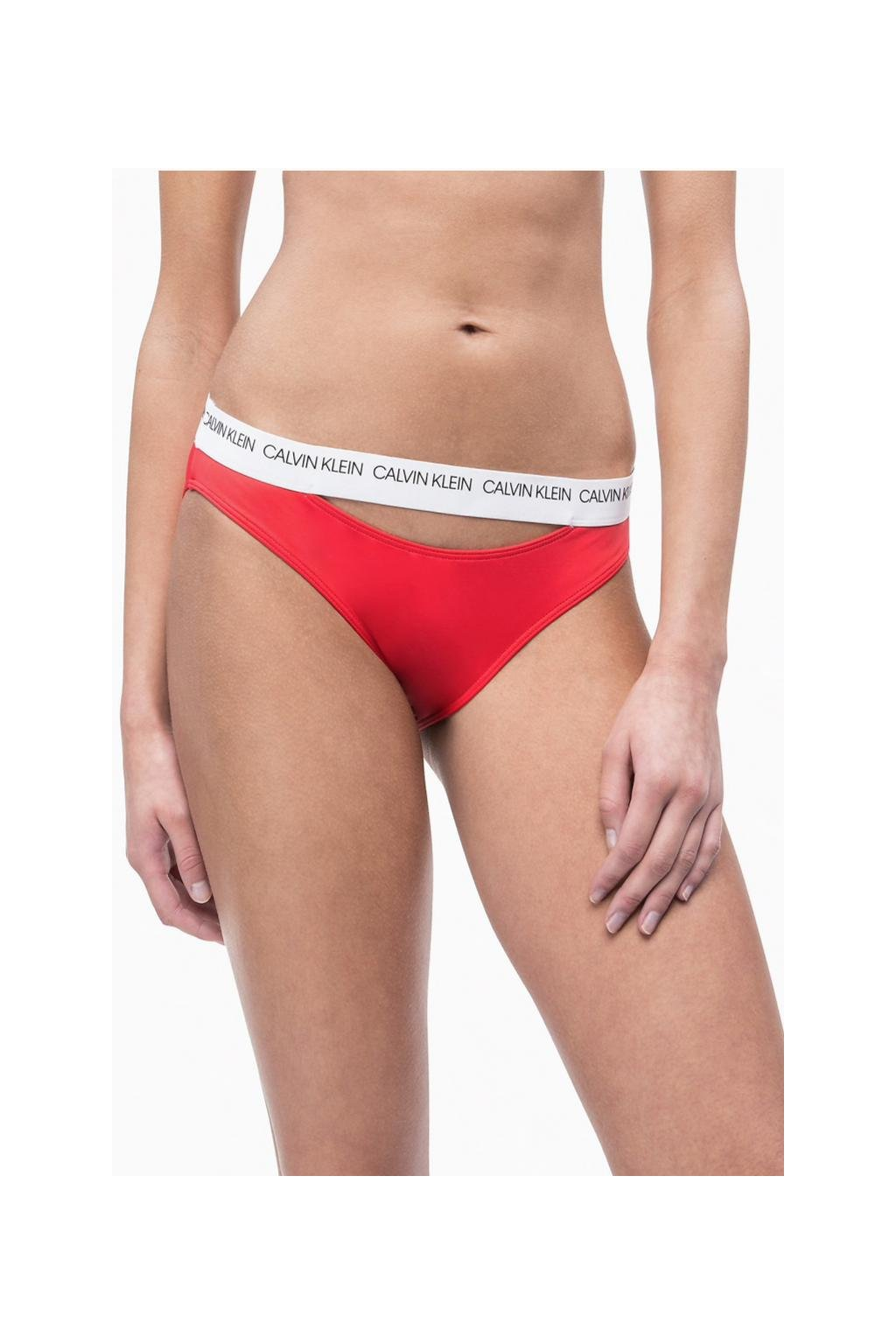 Calvin Klein bikini plavky - laras lipstick