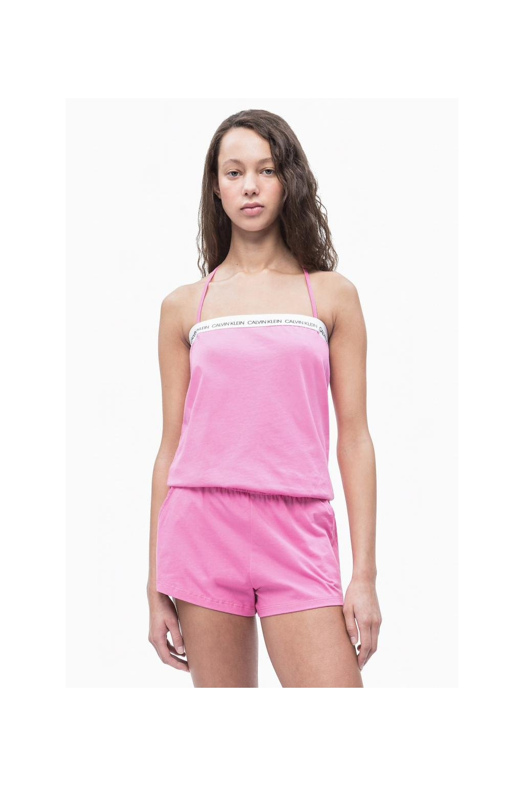 Calvin Klein romper - phlox pink