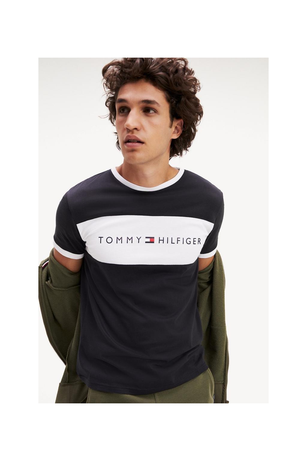 Tommy Hilfiger Lounge Tričko - černé