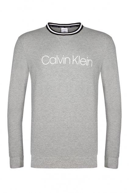Calvin Klein Modern flx mikina - šedá