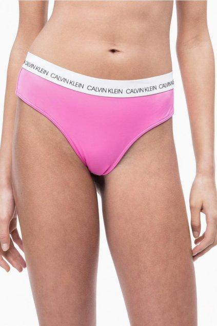 Calvin Klein hipster brazilky plavky - phlox pink