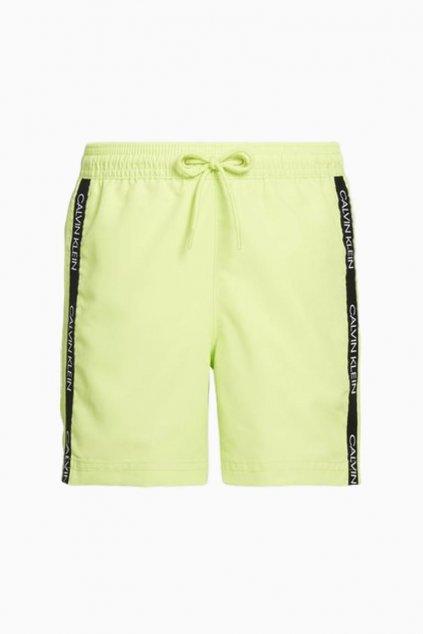 PRO DĚTI! Calvin Klein plavky pro kluky - zelené