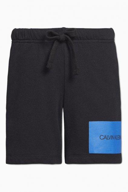 PRO DĚTI! Calvin Klein šortky pro kluky - černé