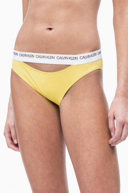 Calvin Klein bikini plavky -habanero gold