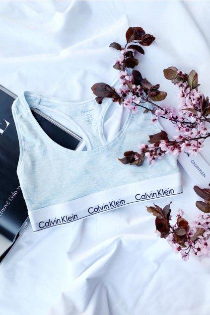 Calvin Klein Modern Cotton braletka - light blue