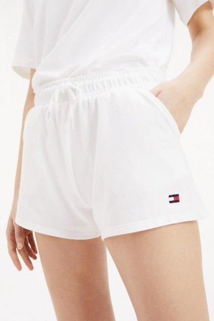 Tommy Hilfiger logo šortky - bílé