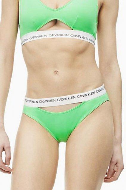 Calvin Klein bikini plavky - spring green