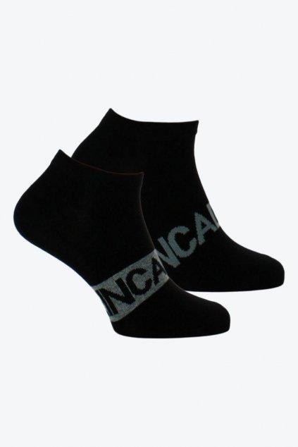 Calvin Klein černé ponožky 2 páry - pánské