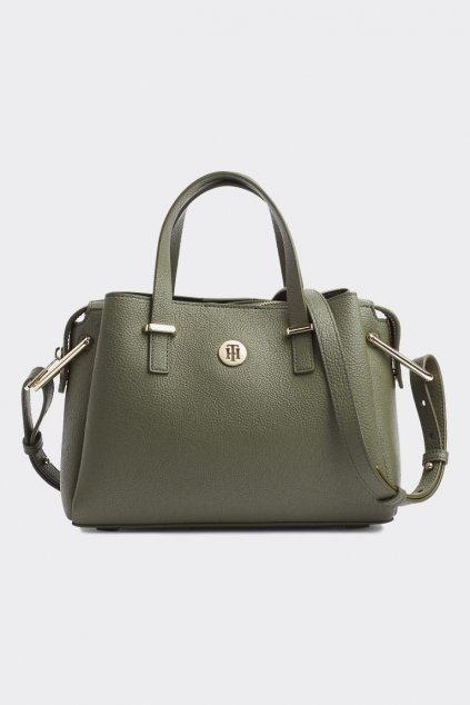 Tommy Hilfiger Medium Satchel - Grape Leaf