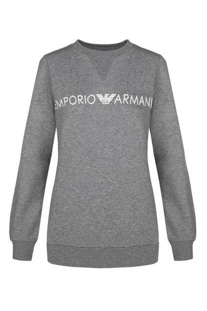 Emporio Armani Feminine mikina - šedá