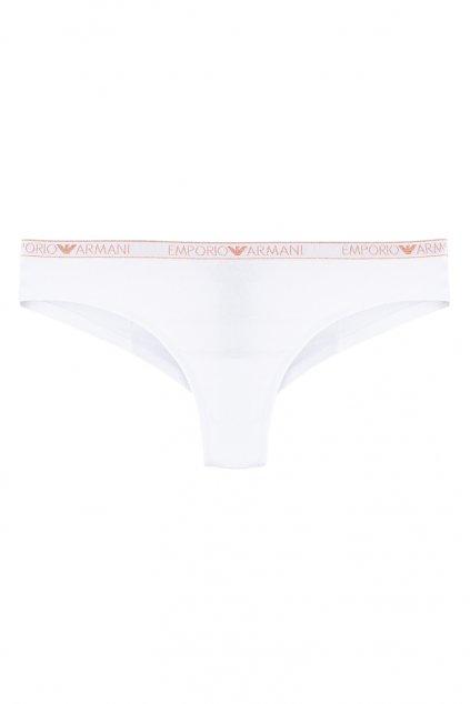 Emporio Armani visibility cotton brazilky - bílé