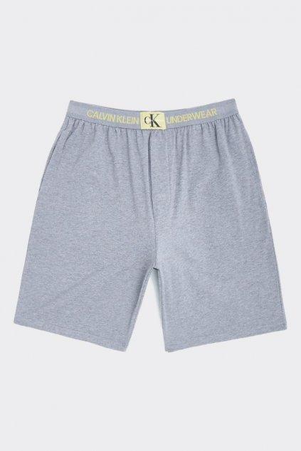 Calvin Klein Modern monogram šortky - šedé