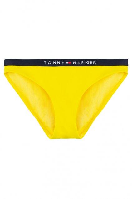 Tommy Hilfiger classic bikini plavky spodní díl - empire yellow