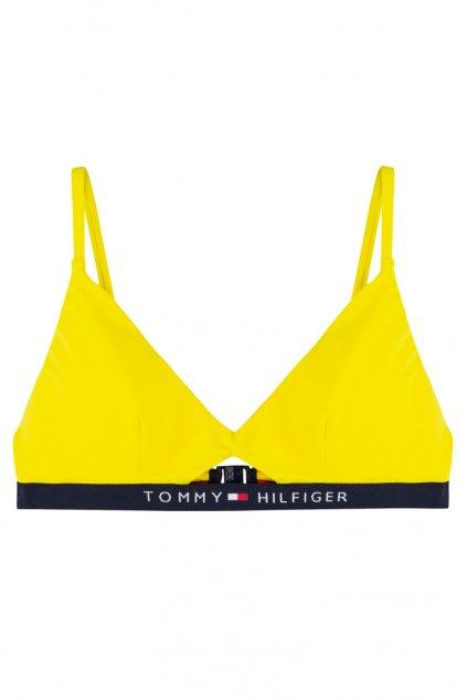 Tommy Hilfiger bralette plavky vrchní díl - empire yellow