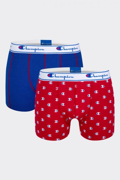 Champion boxerky 2-balení - red/blue