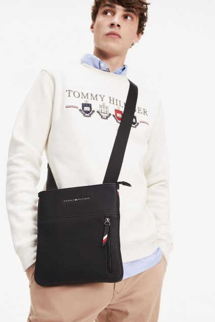 Tommy Hilfiger essential crossover bag - černá