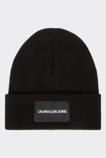 Calvin Klein Jeans beanie čepice - černá