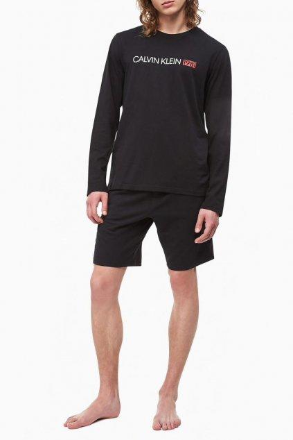 Calvin Klein pánské tričko 1981 bold - černé