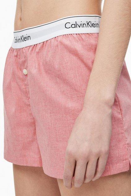 Calvin Klein šortky dámské - pomelo