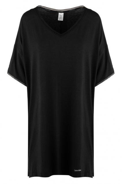 Calvin Klein noční košile - černá