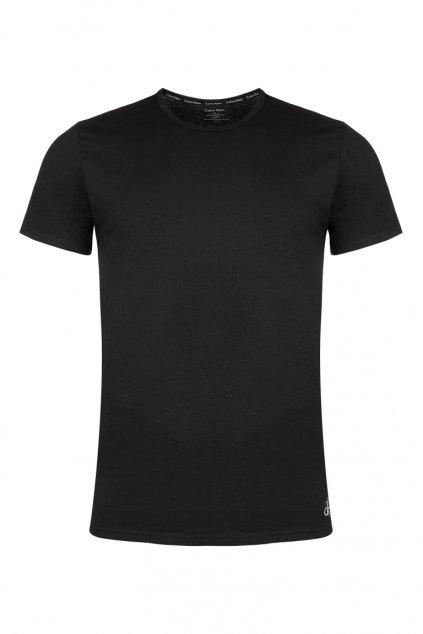 CK Logo Basic Tričko - černé