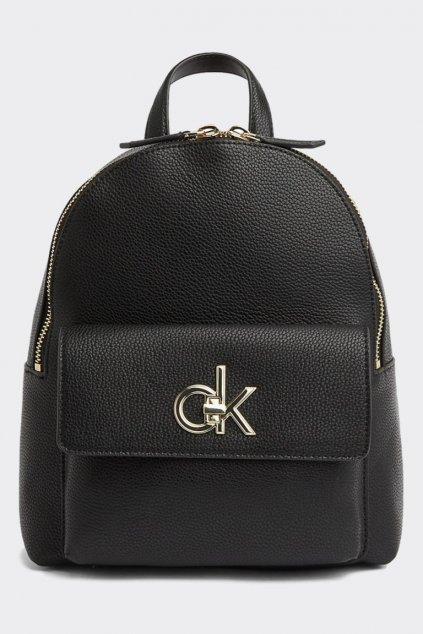 Calvin Klein re-lock batoh - černá