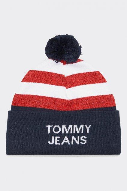 Tommy Jeans americana beanie čepice