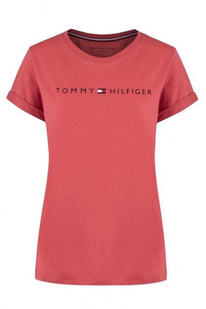 Tommy Original logo tričko dámské - červené