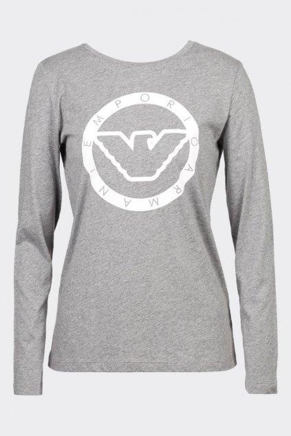 Emporio Armani dámské tričko - šedé
