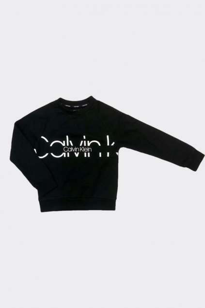 PRO DĚTI! Calvin Klein mikina pro kluky - černá