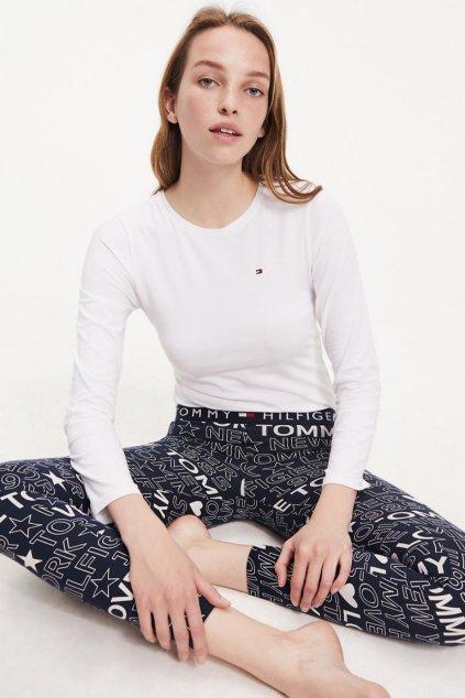 Tommy Hilfiger pyžamový set dámský - bílá, modrá