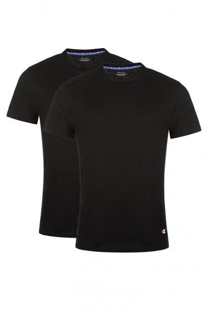 Champion 2-balení triček pánské- černá