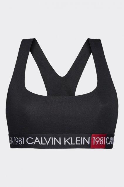 Calvin Klein braletka 1981 bold - černá