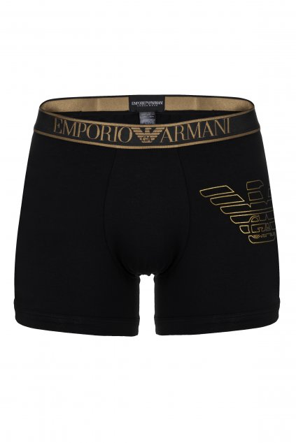 Emporio Armani Boxerky - černá/zlatá