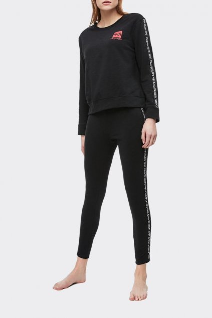 Calvin Klein dámská mikina 1981 Bold - černá