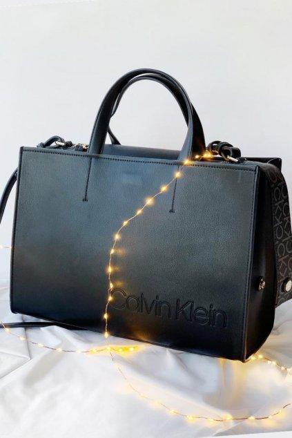 Calvin Klein kabelka 2v1  - černá