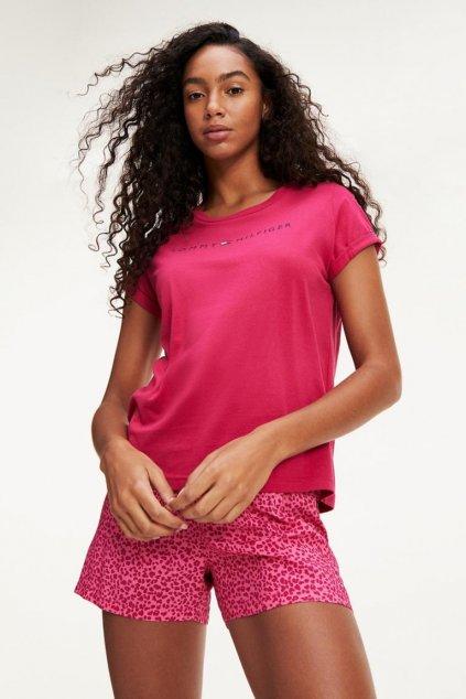 Dárkové balení Tommy Original pyžamový valentýnský set dámský - růžová