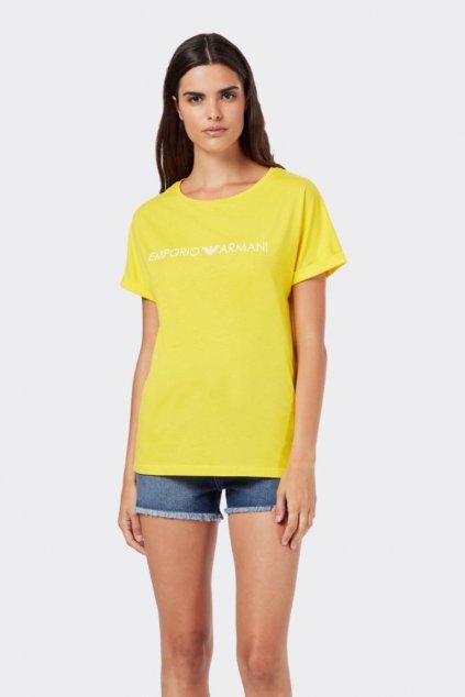 Emporio Armani Logo tričko- žluté