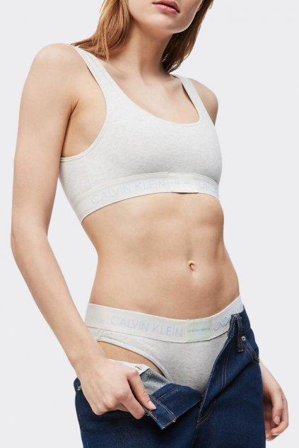 Calvin Klein Monogram braletka - krémová