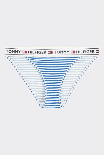 Tommy Hilfiger kalhotky s proužkem- bílá/modrá