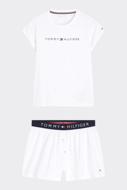 Tommy Original pyžamový set dámský - bílá