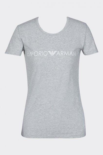 Emporio Armani iconic tričko dámské - šedé