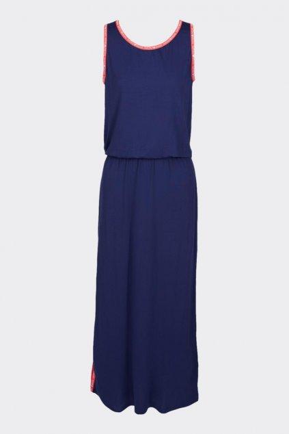 Emporio Armani fresh&fun letní šaty - tmavě modré