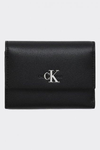 Calvin Klein peneženka s monogramem - černá