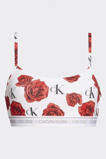 CK ONE braletka - bílá s růžemi