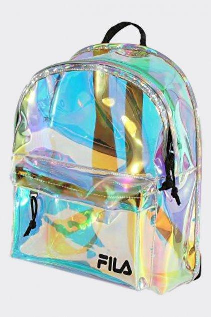 FILA batoh poloprůsvitný- holografický