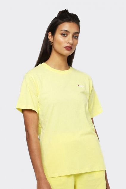 FILA tričko dámské - žluté