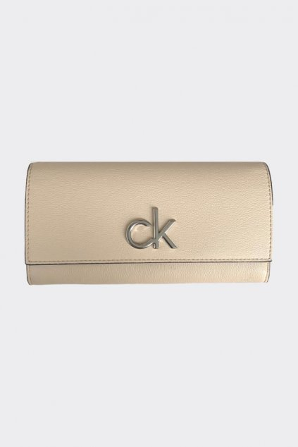 Calvin Klein dámská peněženka - béžová
