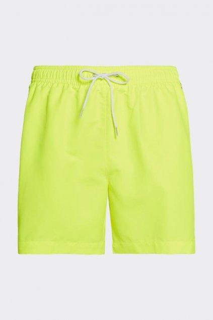 Calvin Klein pánské plavky - neonové