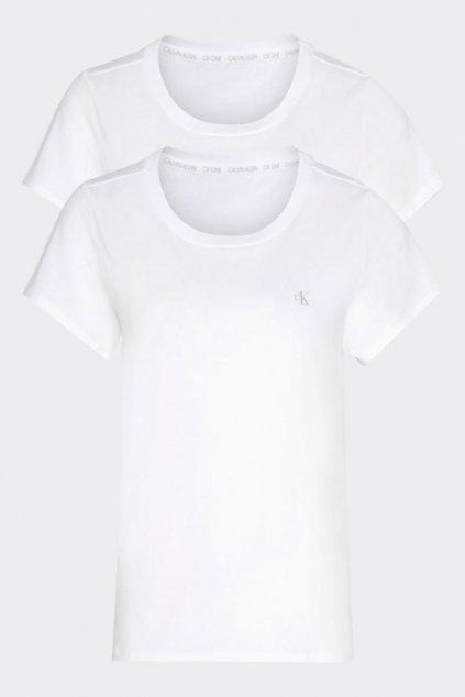 CK ONE 2-balení dámských triček - bílé